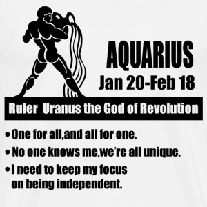 aquarius 1a.png T-Shirts - Men's Premium T-Shirt