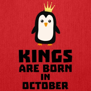 kings born in OCTOBER Sy5jt Bags & backpacks - Tote Bag