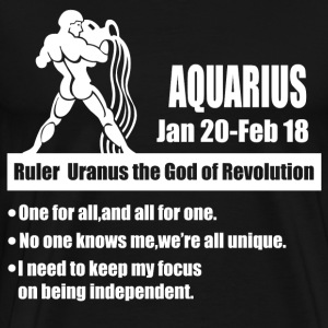 aquarius 1b.png T-Shirts - Men's Premium T-Shirt