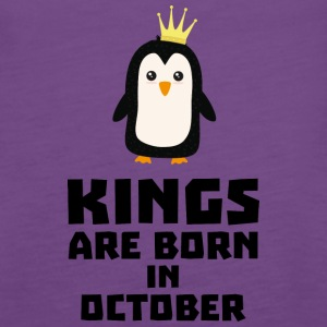 kings born in OCTOBER Sy5jt Tanks - Women's Premium Tank Top