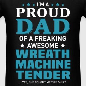 Wreath Machine Tender T-Shirts - Men's T-Shirt