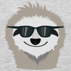Sloth with sunglasses Shdn7 Long Sleeve Shirts - Men's Premium Long Sleeve T-Shirt