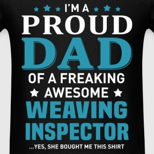 Weaving Inspector T-Shirts - Men's T-Shirt