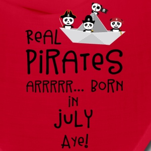 Real Pirates are born in JULY Slmj8 Caps - Bandana