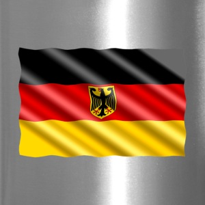 German Eagle Flag Mugs & Drinkware - Travel Mug