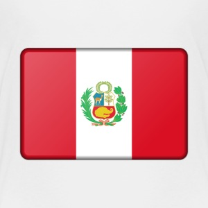 Peru Flag Baby & Toddler Shirts - Toddler Premium T-Shirt