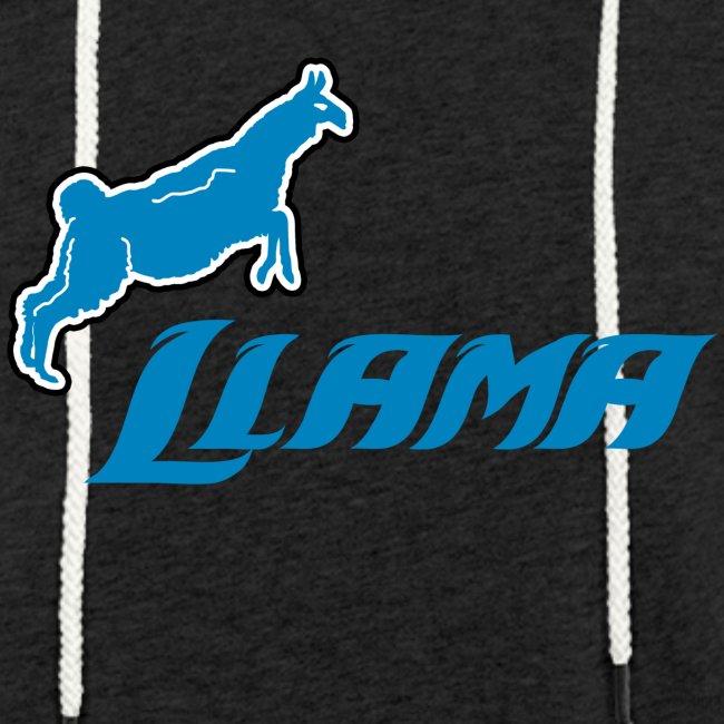 Llama Lightweight Terry Hoodie
