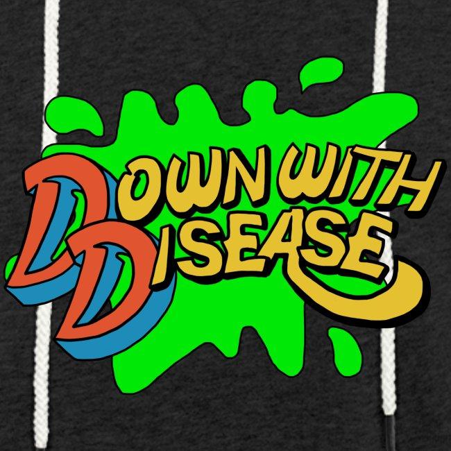 Down with Disease Lightweight Terry Hoodie