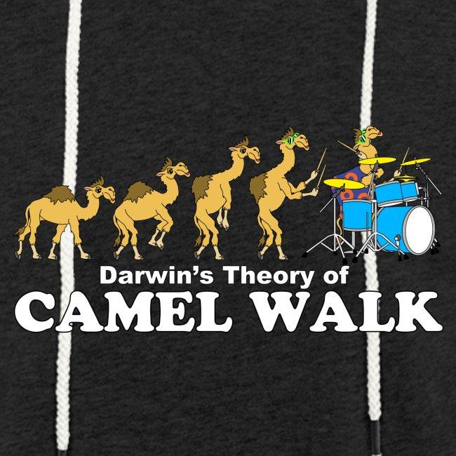 Camel Walk Lightweight Terry Hoodie