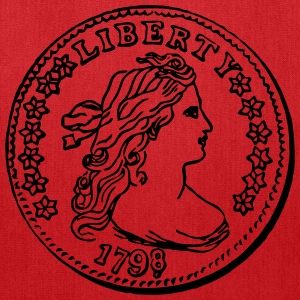 Liberty Dime 1798 - Tote Bag