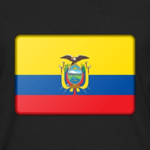 Ecuador Flag Long Sleeve Shirts - Men's Premium Long Sleeve T-Shirt