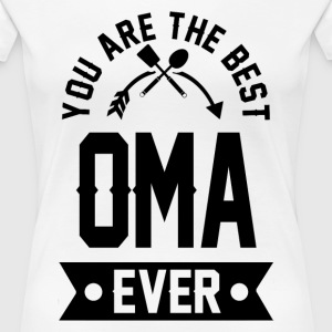 oma 1aaa.png T-Shirts - Women's Premium T-Shirt