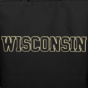 Wisconsin - Eco-Friendly Cotton Tote
