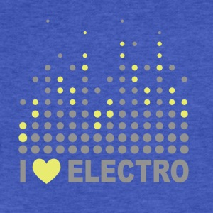 Electro T-Shirts - Fitted Cotton/Poly T-Shirt by Next Level