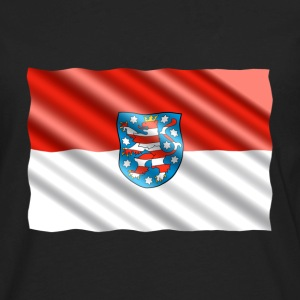 Thuringia Flag Long Sleeve Shirts - Men's Premium Long Sleeve T-Shirt