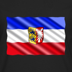 Mecklenburg Flag Long Sleeve Shirts - Men's Premium Long Sleeve T-Shirt