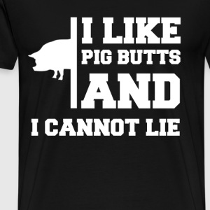 PID BUTTS 1BBBB.png T-Shirts - Men's Premium T-Shirt