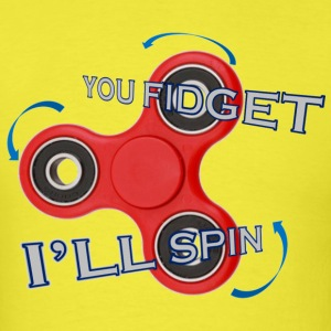 FIDGET SPINNER - Men's T-Shirt