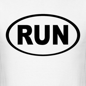 Basic Running oval - Men's T-Shirt