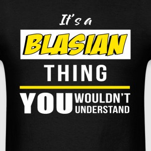 it's A Blasian Thing You Wouldn't Understand - Men's T-Shirt
