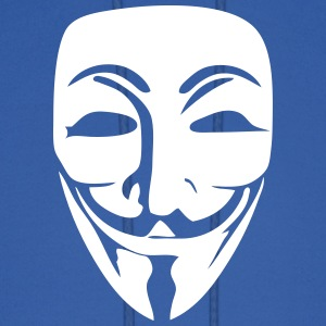 Anonymous Logo (Guy Fawkes Mask) Hoodies - Men's Hoodie