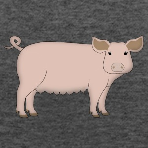 pig Tanks - Women's Flowy Tank Top by Bella