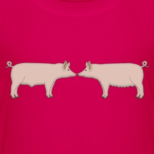 two pigs Kids' Shirts - Kids' Premium T-Shirt