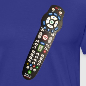 REMOTE CONTROL for MEN Blue T - Men's Premium T-Shirt