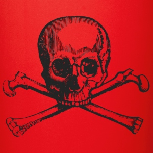 Skull and bones pirate - Full Color Mug