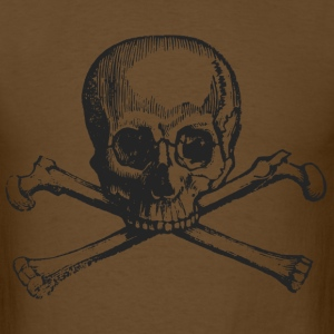 Skull and bones pirate - Men's T-Shirt