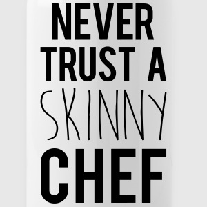 A Skinny Chef Funny Quote Sportswear - Water Bottle