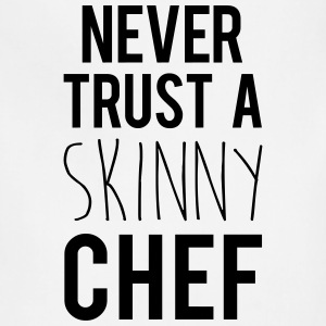 A Skinny Chef Funny Quote Aprons - Adjustable Apron