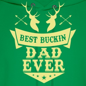 Best buckin Dad ever Hoodies - Men's Hoodie