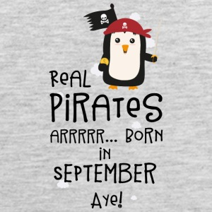Real Pirates are born in SEPTEMBER Sez9t Sportswear - Men's Premium Tank