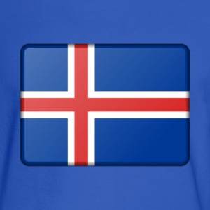 Iceland Flag Long Sleeve Shirts - Men's Long Sleeve T-Shirt