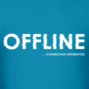 Offline connection - Men's T-Shirt