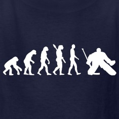 Evolution hockey goalie Kids' Shirts