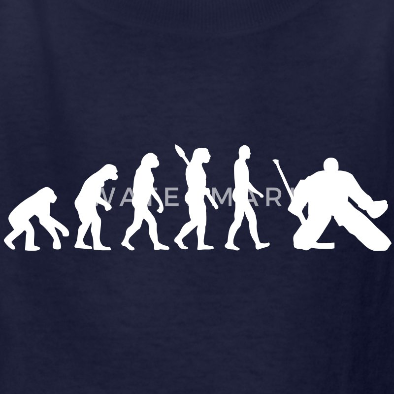 Evolution hockey goalie Kids' Shirts - Kids' T-Shirt