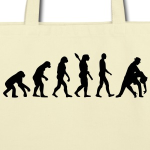 Evolution dancing Bags  - Eco-Friendly Cotton Tote
