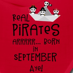 Real Pirates are born in SEPTEMBER Spwla Caps - Bandana
