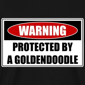 Protected By Goldendoodle T-Shirts - Men's Premium T-Shirt