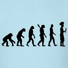 Evolution cook chef T-Shirts