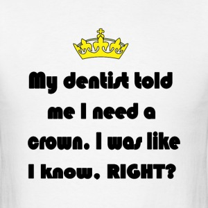 Dentist crown - Men's T-Shirt