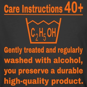 40th birthday care T-Shirts - Men's 50/50 T-Shirt