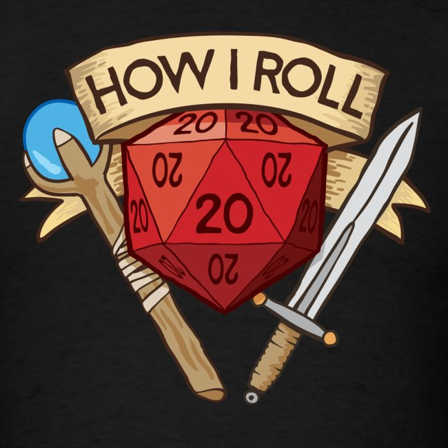 How I Roll D&D Dungeons & Dragons