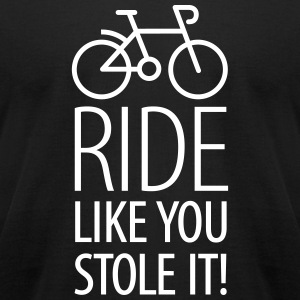 Ride like you stole it T-shirts - T-shirt pour hommes American Apparel