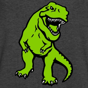 T-rex dinosaur opaque T-Shirts - Men's V-Neck T-Shirt by Canvas