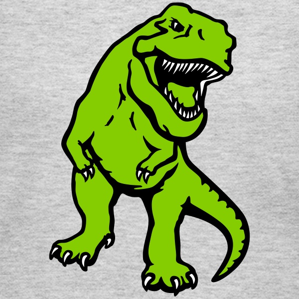T-rex dinosaur opaque Long Sleeve Shirts - Women's Long Sleeve Jersey T-Shirt