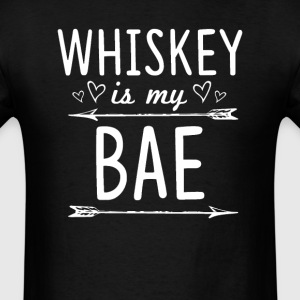 Whiskey Is my BAE T-Shirts - Men's T-Shirt