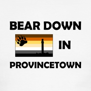 Bear Down in Provicetown - Men's Ringer T-Shirt